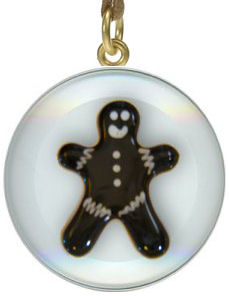 fused glass christmas page gingerbread donejpg - Fused Glass Christmas Ornaments