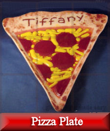 05/20/10 \u2013 Pizza Plate Design \u2013 This conception for a pizza plate was created employing an unfinished ceramic bisque piece. Though there is a ceramic form ... & Pizza Plate Design | Glass Fusing Made Easy